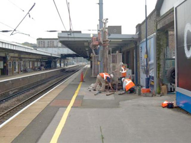 Luton station project